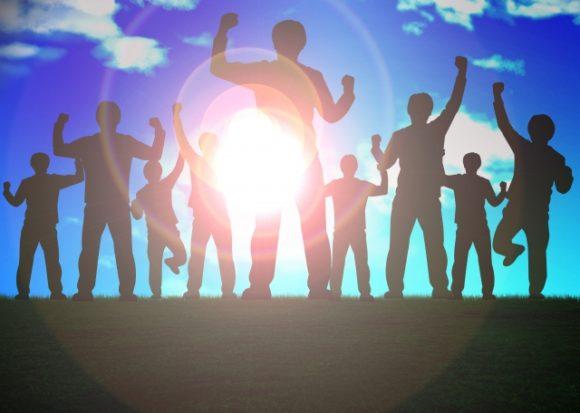 イメージ:合格、達成、喜び