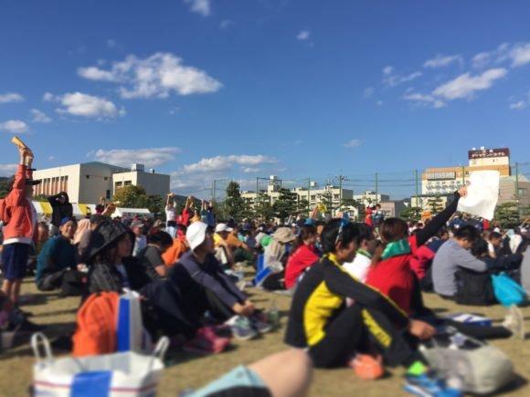 写真:ひろしま国際平和マラソン 抽選会
